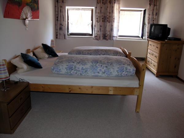 gro es ferienhaus mit 4 schlafz angel u badesee bauernhof mit vielen tieren bei ro haupten. Black Bedroom Furniture Sets. Home Design Ideas